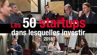 Le jury des 50 startups dans lesquelles investir a fait sa sélection Video Preview Image