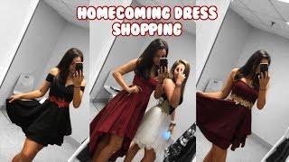HOMECOMING DRESS SHOPPING 2018