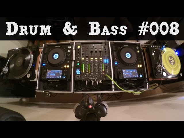 Drum & Bass Essentials Mix #008 - Neurofunk & Half-time 2016