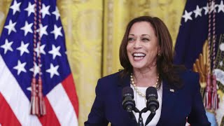 LIVE: Vice President Harris holds a meeting to help people get vaccinated