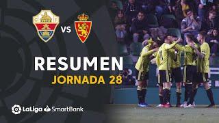 Highlights Elche CF vs Real Zaragoza (1-2)