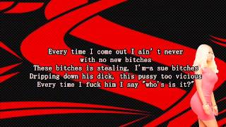 Young Thug - Danny Glover (Remix) ft Nicki Minaj (Lyrics)