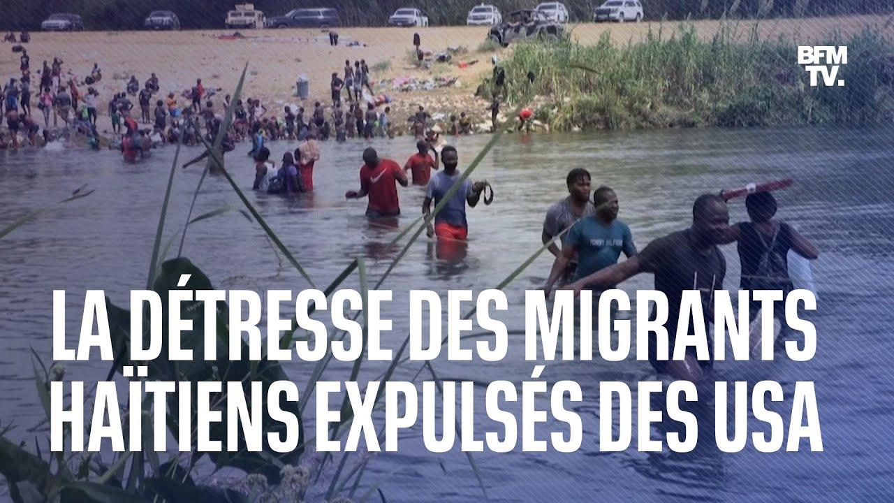 La détresse des migrants haïtiens expulsés des États-Unis