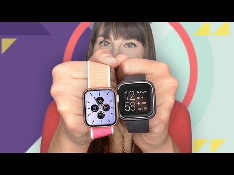 Apple Watch Series 5 vs. Fitbit Versa 2