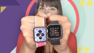 Apple Watch Series 5 vs. Fitbit Versa 2