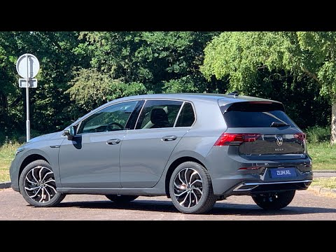 Volkswagen NEW Golf 8 Style in 4K 2020 Delfin Grey Metal 17 inch Ventura Walk around & Detail inside
