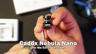 Less than 5 Grams! Caddx Nebula Nano Digital FPV Camera