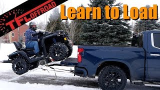 Heres How To Load An ATV Into Your Truck Without Crashing!