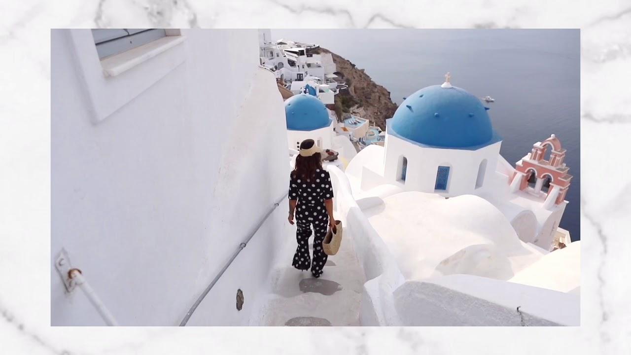 Luxblog on Santorini