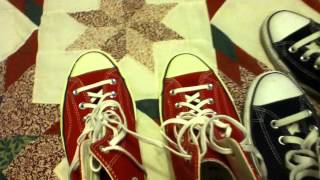 1970s Chuck Taylor All Stars Compared To Regular Converse All Stars