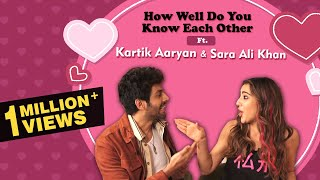 Kartik Aaryan VS Sara Ali Khan | HISTORIC How Well Do You Know Each Other | Love Aaj Kal | Exclusive