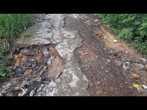 Rua Latércio de Almeida Rocha na Favela do Justinos descaso e abandono