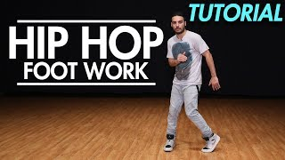 How to do Hip Hop Footwork ( Hip Hop Dance Moves Tutorial)   Mihran Kirakosian