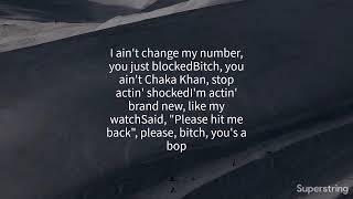 YG   Do Not Disturb Ft. Kamaiyah,G Eazy {Lyrics}