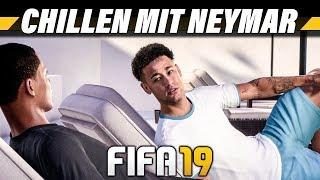 CHILLEN MIT NEYMAR! – FIFA 19 The Journey Champions Deutsch #21 – Lets Play 4K Gameplay German