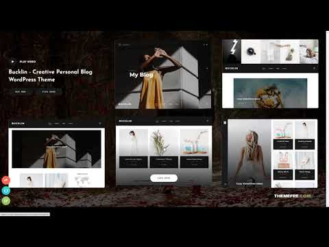 Bucklin - Creative Personal Blog WordPress Theme responsive post Yukina
