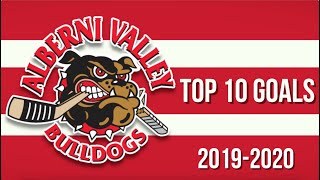 Top 10 Alberni Valley Bulldogs Goals of 2019-20