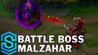 Battle Boss Malzahar Skin Spotlight - League of Legends