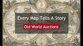 How To Buy Antique Maps: Every Map Tells A Story