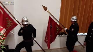 Prihod praporov ob 20-letnici GZ Sv. Jurij ob Ščavnici