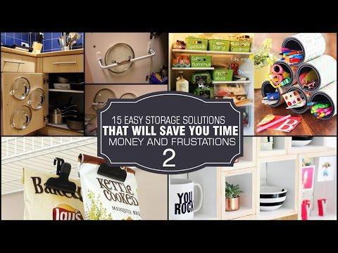 15 Storage solution and DIY organization ideas #2