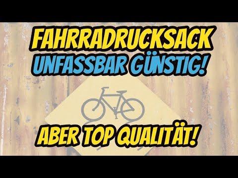 Fahrradrucksack Bikerucksack unfassbar günstig mit einer super Qualität | Review