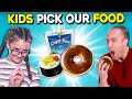 We Let Kids MAKE Our Meals For A Day | People Vs. Food