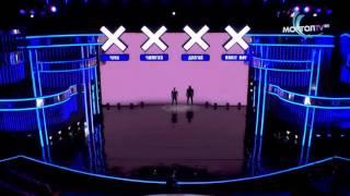 Шоу талантов Монголии, классное выступление Б.Шижирбата .Световое шоу.