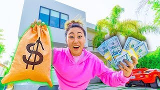 I HID $10,000 IN HUGE MANSION!!