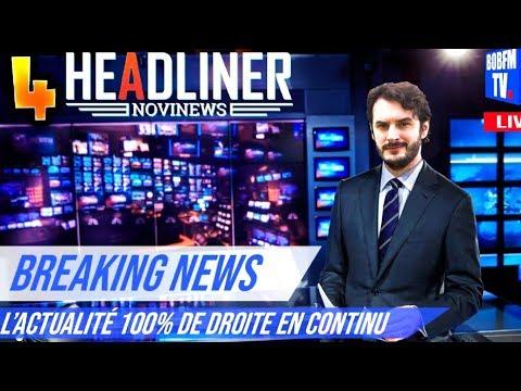 ENFIN !! LE MONDE COMMENCE A BRULER !! -Headliner 2 : Novinews- avec Bob Lennon