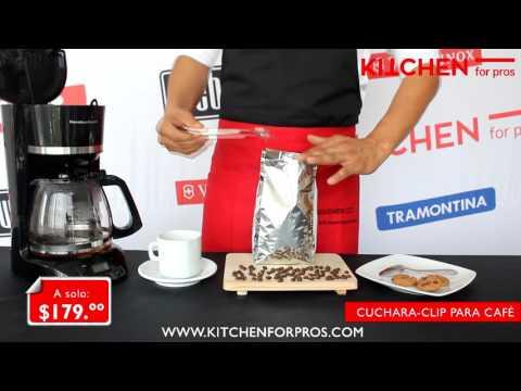Cuchara clip para Café