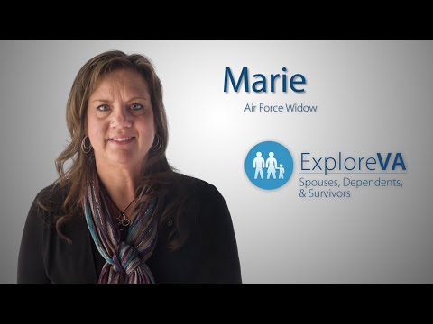Marie used VA benefits to help pay the bills after her husband was killed in action.