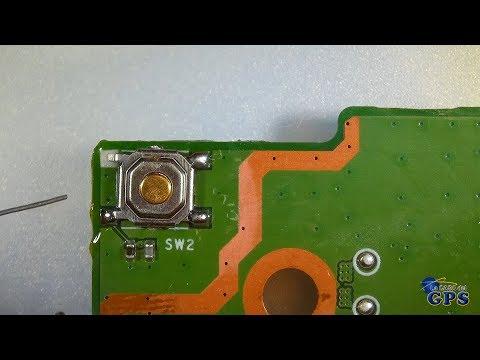 TUTORIAL - Reparación del pulsador de encendido de un GPS TomTom START 60