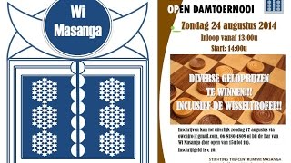 preview picture of video 'Wi Masanga - Damtoernooi 24 augustus 2014'