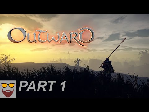 Let's Play Outward - Big October Update - Part 1: Intro and Blister Hollow - PC Gameplay Walkthrough
