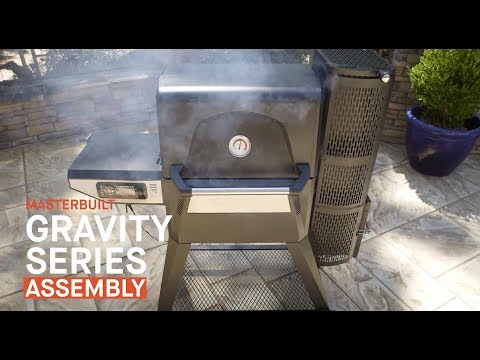 Masterbuilt Gravity Series 560 Digital Grill + Smoker Unboxing and Assembly