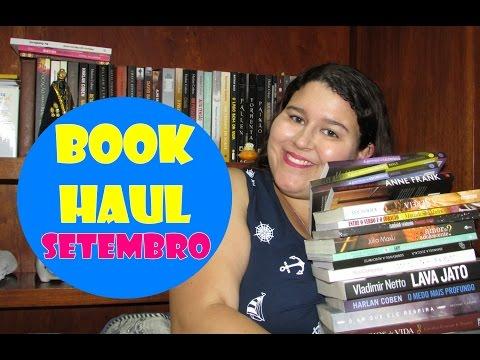 Voltei! Book Haul de Setembro