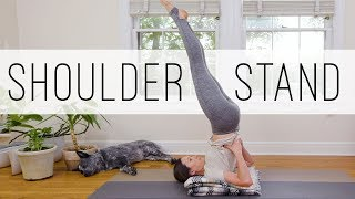 Foundations Of Shoulder Stand  |  Candle Pose  |  Yoga With Adriene