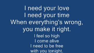 I Need Your Love-Pentatonix(Calvin Harris feat. Ellie Goulding Cover) [LYRICS]