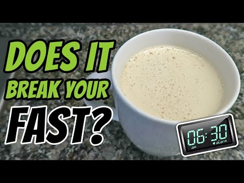Will Coconut Oil Coffee Break My Fast? (BULLETPROOF COFFEE BENEFITS)