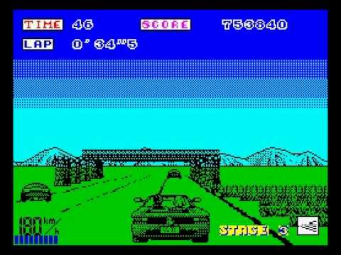 Out Run Walkthrough, ZX Spectrum