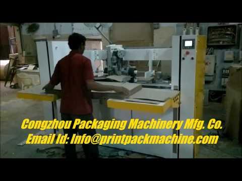 Semi - Automatic Stitching Machine Single Piece Box Stitching