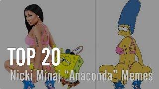 """Top 20 Nicki Minaj """"Anaconda"""" Memes   VIBE"""