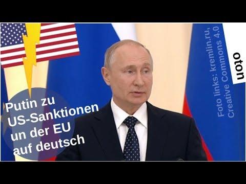 Putin über US-Sanktionen und die EU auf deutsch [Video]