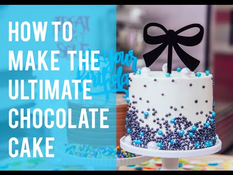 Download How To Make The Ultimate CHOCOLATE CAKE And DECORATE IT LIKE A PRO - Easy Steps! HD Mp4 3GP Video and MP3