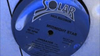 "Midnight Star    Operator. 1984 (12"" SoulFunk Classic)"