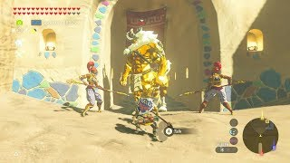 Breath of the Wild: Pet Gold Lynel for Riju | No Hacks