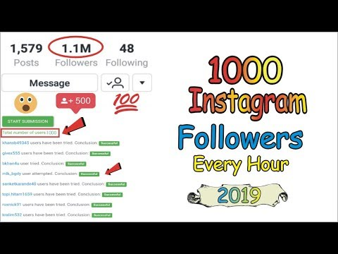 Download How To Get Instagram Follwers Get 500 Followers In 1 Hour