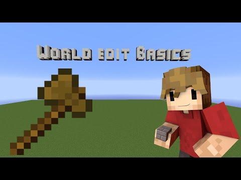 Minecraft Building Tutorial: World Edit Basics!