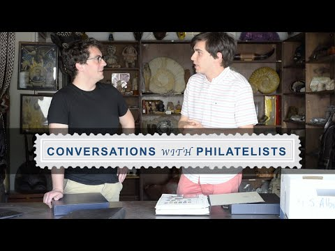 Conversations with Philatelists:  Ep. 55 How To Break Down a Large Stamp Collection